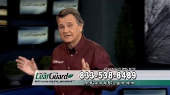 LeafGuard of Oregon Winter Half Off Sale TV Spot, 'Old, Open Top Gutters'