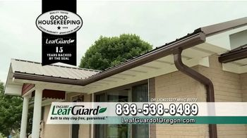 LeafGuard of Oregon Winter Half Off Sale TV Spot, 'Old, Open Top Gutters' - Thumbnail 2