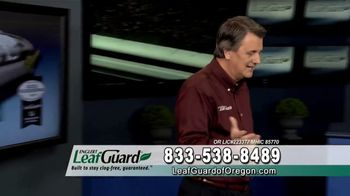 LeafGuard of Oregon Winter Half Off Sale TV Spot, 'Old, Open Top Gutters' - Thumbnail 7
