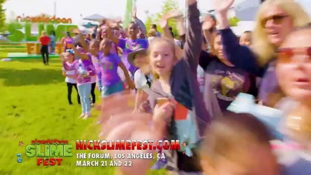 Nickelodeon Slime Fest TV Commercial, '2020 Los Angeles: The Forum'