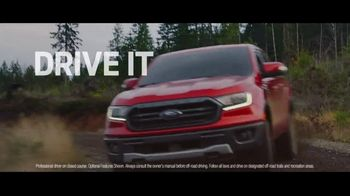 2019 Ford Ranger TV Spot, 'Drive It: Off the Grid' Song by Little Richard [T2] - 4 commercial airings