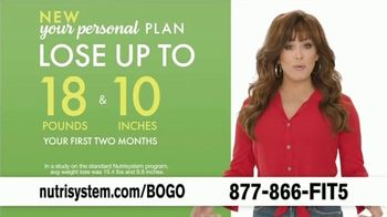 Nutrisystem Personal Plans TV Spot, 'News Flash: BOGO and Free Shakes' - 167 commercial airings