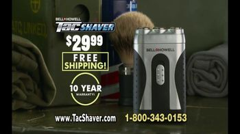 Bell + Howell TacShaver TV Spot, 'Quick and Razor-Smooth' - Thumbnail 10