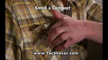 Bell + Howell TacShaver TV Spot, 'Quick and Razor-Smooth' - Thumbnail 5