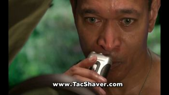 Bell + Howell TacShaver TV Spot, 'Quick and Razor-Smooth' - Thumbnail 7