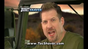 Bell + Howell TacShaver TV Spot, 'Quick and Razor-Smooth' - Thumbnail 8