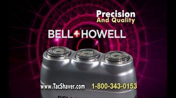 Bell + Howell TacShaver TV Spot, 'Quick and Razor-Smooth' - Thumbnail 9