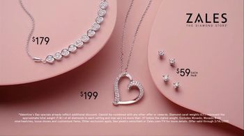 Zales Valentine's Day Sale TV Spot, 'You Are My Diamond' - Thumbnail 10
