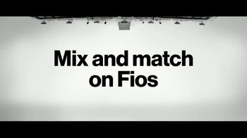Fios by Verizon TV Spot, 'Mix and Match Launch: $200 VISA Pre-Paid Card' - Thumbnail 5