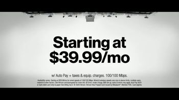 Fios by Verizon TV Spot, 'Mix and Match Launch: $200 VISA Pre-Paid Card' - Thumbnail 8