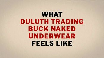 Duluth Trading Company Buck Naked Underwear TV Spot, 'Massage' - Thumbnail 4