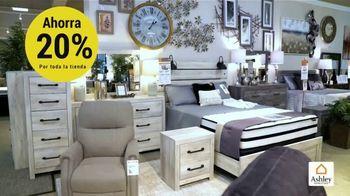 Ashley HomeStore Venta del Día de los Presidentes TV Spot, 'Toda la tienda: 20 por ciento' [Spanish] - Thumbnail 4