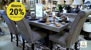 Ashley HomeStore Venta del Día de los Presidentes TV Spot, 'Toda la tienda: 20 por ciento' [Spanish] - Thumbnail 5