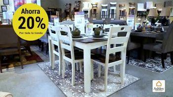 Ashley HomeStore Venta del Día de los Presidentes TV Spot, 'Toda la tienda: 20 por ciento' [Spanish] - Thumbnail 6