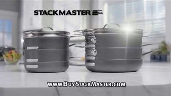 Stack Master by Granite Stone TV Spot, 'Stacks to Fit: Free Crisper Tray'