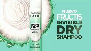 Garnier Fructis Invisible Dry Shampoo TV Spot, 'Sin residuos' canción de Bruno Mars [Spanish] - Thumbnail 9