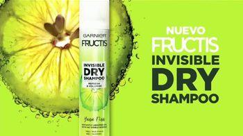 Garnier Fructis Invisible Dry Shampoo TV Spot, 'Sin residuos' canción de Bruno Mars [Spanish] - Thumbnail 8