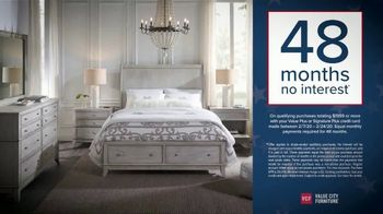 Value City Furniture Presidents Day Sale TV Spot, 'Buy More and Save' - Thumbnail 8