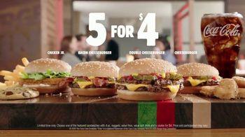 Burger King 5 for $4 TV Spot, 'Just $4' - Thumbnail 8