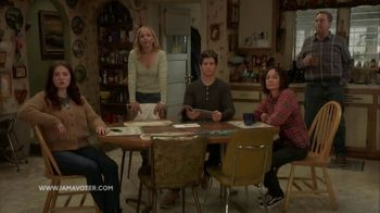 I Am a Voter TV Spot, 'ABC: The Conners'