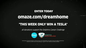Omaze Dream Home Giveaway TV Spot, 'Dolphin Cancer Challenge: Tesla' Featuring Dan Marino - Thumbnail 10