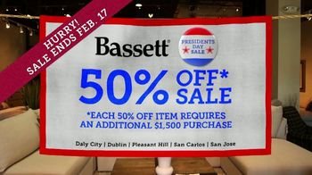 Bassett Presidents Day Sale TV Spot, '50% Off Beds, Recliners & Tables' - Thumbnail 5