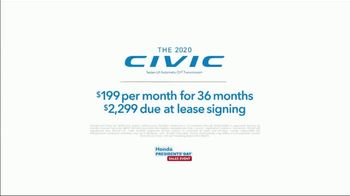 Honda Presidents Day Sales Event TV Spot, 'Twin Cities: Better' [T2] - Thumbnail 8