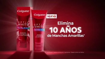 Colgate Optic White Renewal TV Spot, 'Eliminar 10 años' [Spanish] - Thumbnail 8