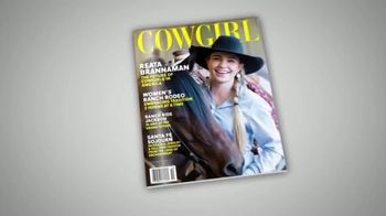 Cowgirl Magazine TV Spot, 'Cowgirl Is for Women: Come Ride the Range' - Thumbnail 2
