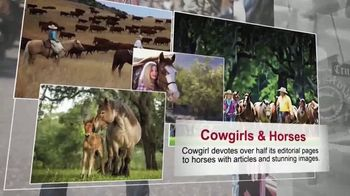 Cowgirl Magazine TV Spot, 'Cowgirl Is for Women: Come Ride the Range' - Thumbnail 3