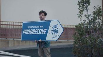 Progressive TV Spot, 'Sign Spinner: Competitor' - Thumbnail 1