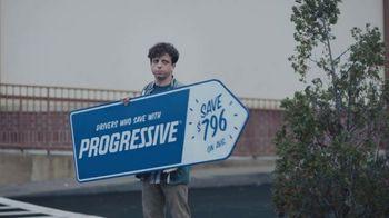Progressive TV Spot, 'Sign Spinner: Competitor' - Thumbnail 2