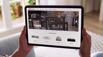 Bob's Discount Furniture TV Spot, 'Only Place on the Web' - Thumbnail 1