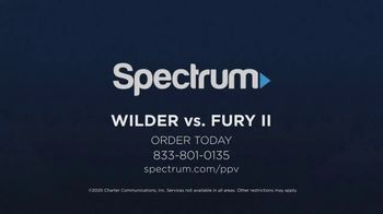 Spectrum Pay-Per-View TV Spot, 'Wilder vs. Fury II' - Thumbnail 9