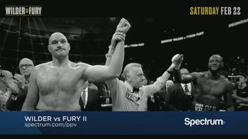 Spectrum Pay-Per-View TV Spot, 'Wilder vs. Fury II'