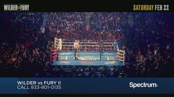 Spectrum Pay-Per-View TV Spot, 'Wilder vs. Fury II' - Thumbnail 6
