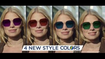 Transitions Optical Gen 8 Lenses TV Spot, 'A Good Feeling: Four New Style Colors' Song by Pigeon John - Thumbnail 10