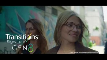 Transitions Optical Gen 8 Lenses TV Spot, 'A Good Feeling: Four New Style Colors' Song by Pigeon John - Thumbnail 8