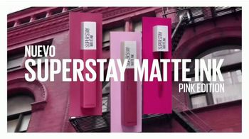 Maybelline New York SuperStay Matte Ink TV Spot, 'Dura hasta 16 horas' [Spanish] - Thumbnail 1