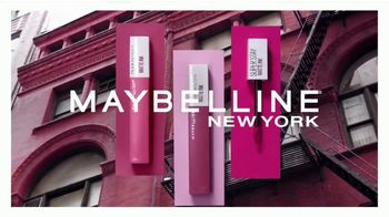 Maybelline New York SuperStay Matte Ink TV Spot, 'Dura hasta 16 horas' [Spanish]