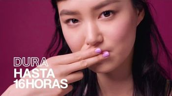 Maybelline New York SuperStay Matte Ink TV Spot, 'Dura hasta 16 horas' [Spanish] - Thumbnail 3