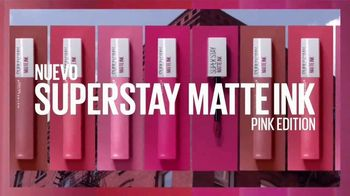 Maybelline New York SuperStay Matte Ink TV Spot, 'Dura hasta 16 horas' [Spanish] - Thumbnail 6
