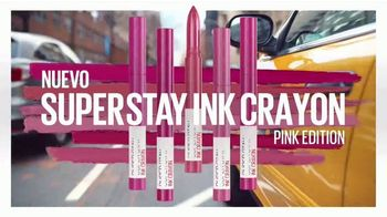 Maybelline New York SuperStay Matte Ink TV Spot, 'Dura hasta 16 horas' [Spanish] - Thumbnail 7