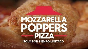 Pizza Hut Mozzarella Poppers Pizza TV Spot, 'Ordenar rápido' [Spanish] - Thumbnail 1