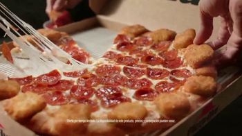 Pizza Hut Mozzarella Poppers Pizza TV Spot, 'Ordenar rápido' [Spanish] - Thumbnail 5