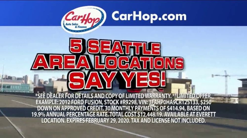 CarHop Auto Sales & Finance TV Commercial, 'Get a Great Used Car'