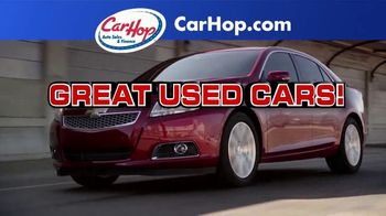 CarHop Auto Sales & Finance TV Spot, 'Get a Great Used Car' - Thumbnail 1