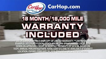 CarHop Auto Sales & Finance TV Spot, 'Get a Great Used Car' - Thumbnail 4