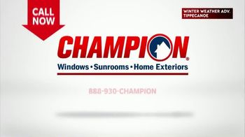 Champion Windows TV Spot, 'Sunroom: 20 Percent' - Thumbnail 9