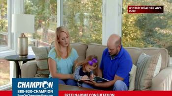 Champion Windows TV Spot, 'Sunroom: 20 Percent' - Thumbnail 5